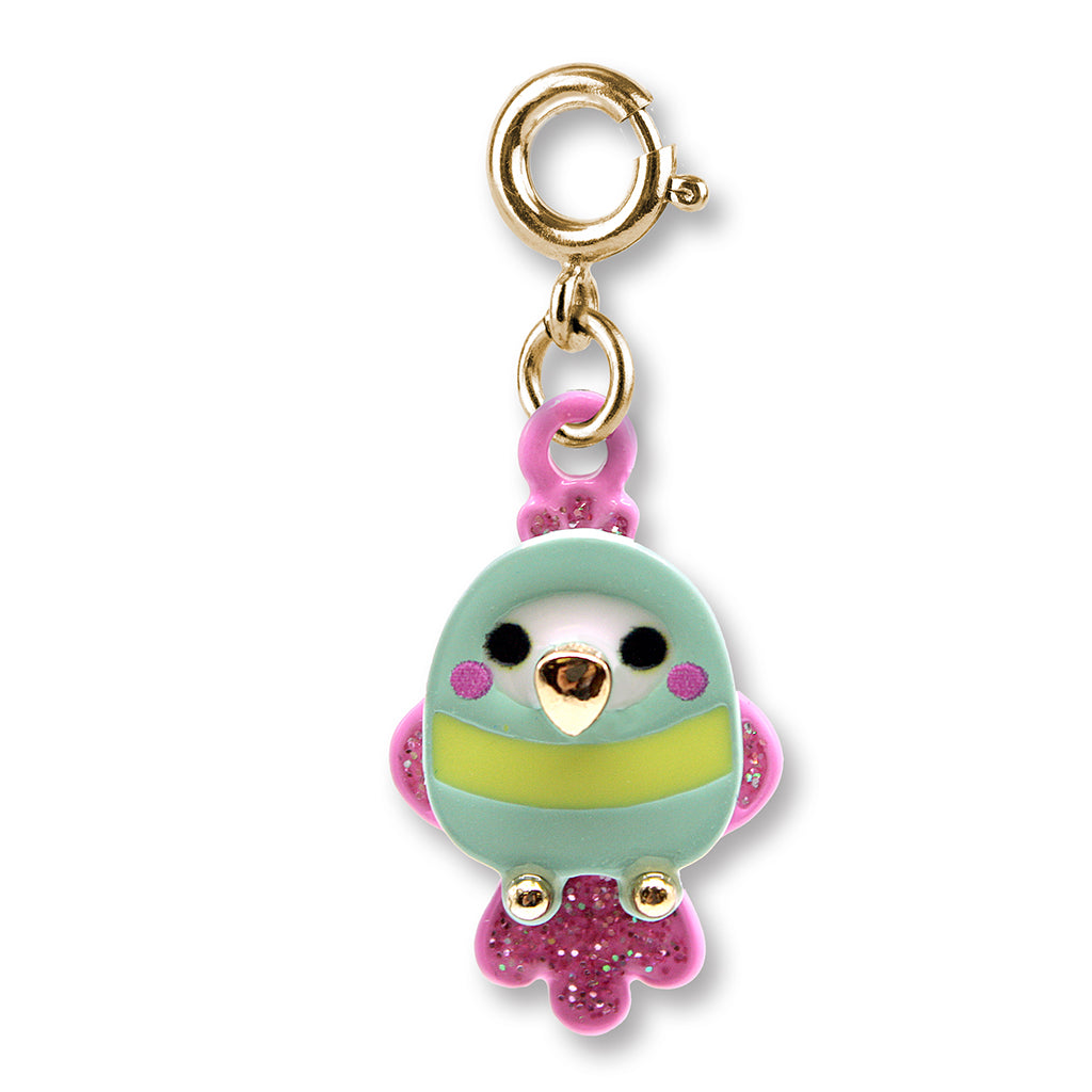 CHARM IT! Gold Tropical Bird Charm