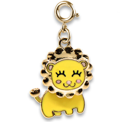 CHARM IT! Gold Swivel Lion Charm