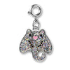 Glitter Stingray Charm - shopcharm-it