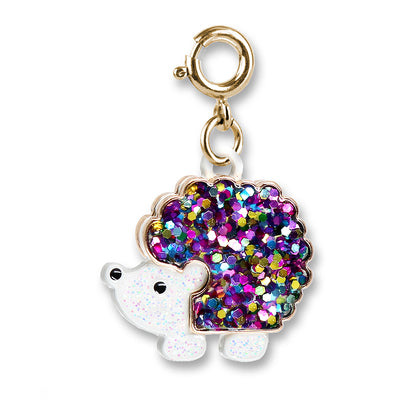 Shop Gold Glitter Hedgehog Charm