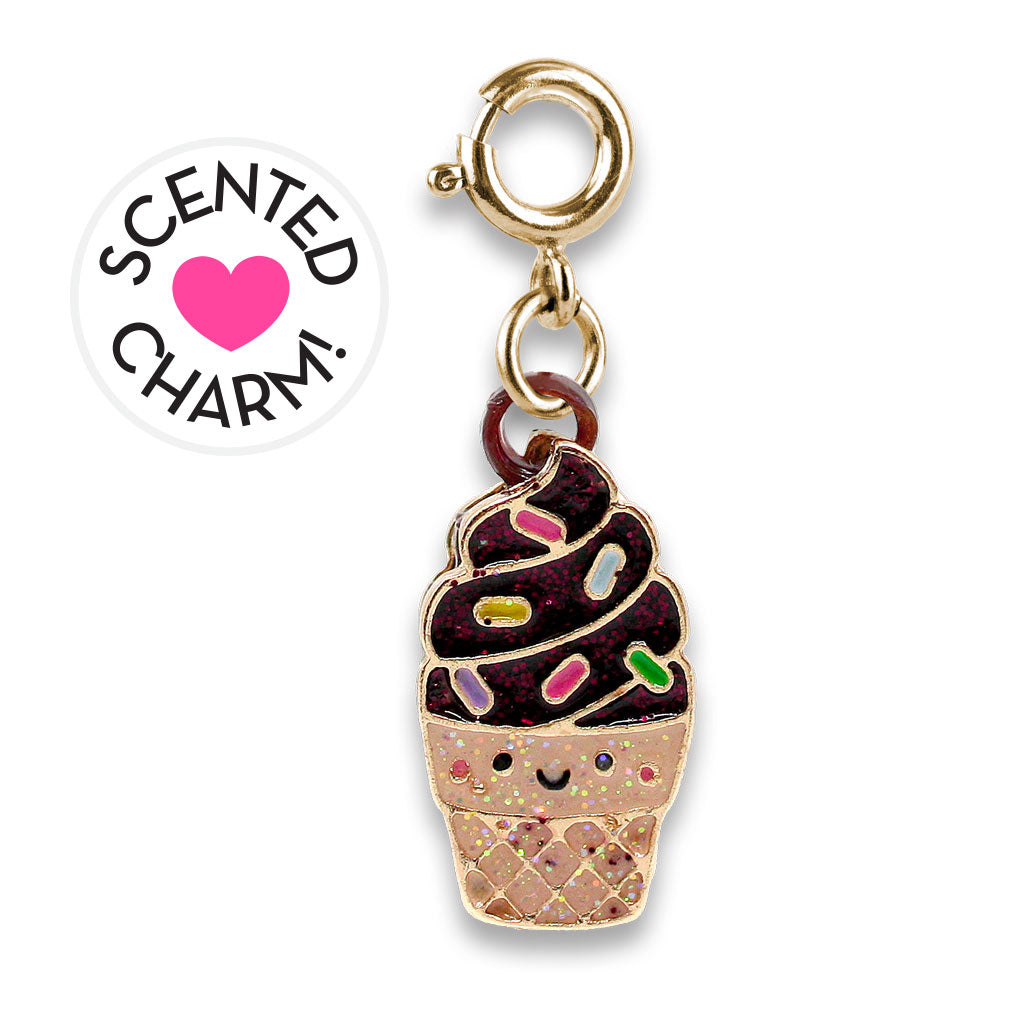 Gold Scented Chocolate Soft Serve Charm