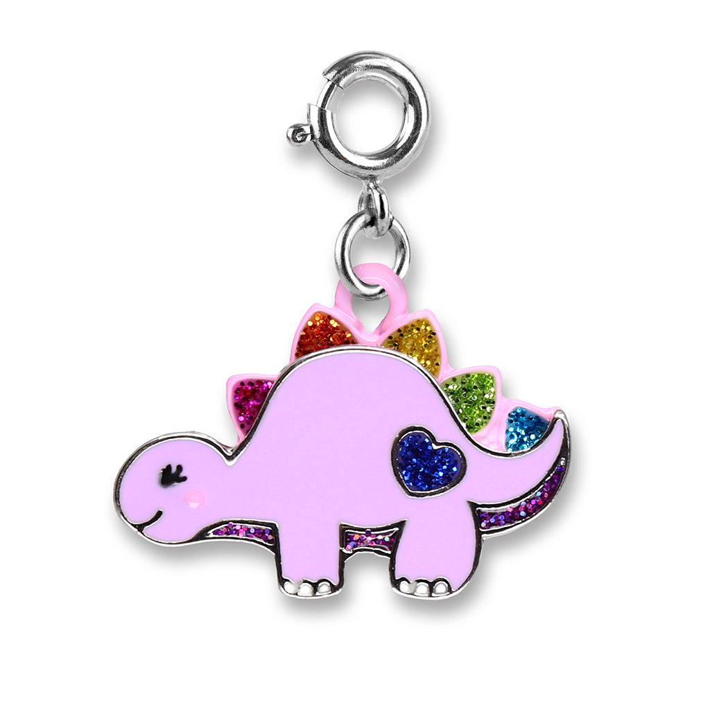 Glitter Dinosaur Charm - shopcharm-it