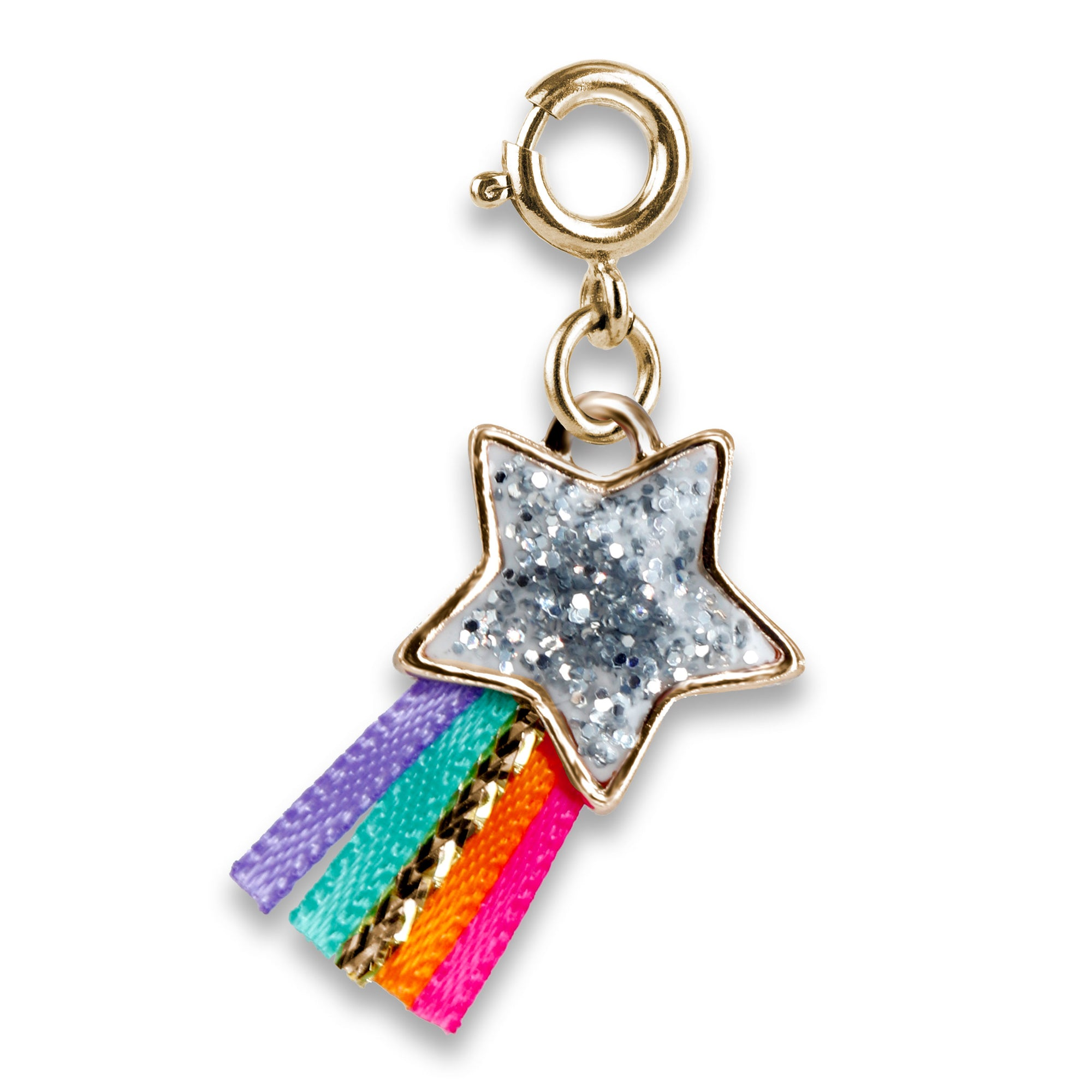 CHARM IT! Gold Glitter Shooting Star Charm