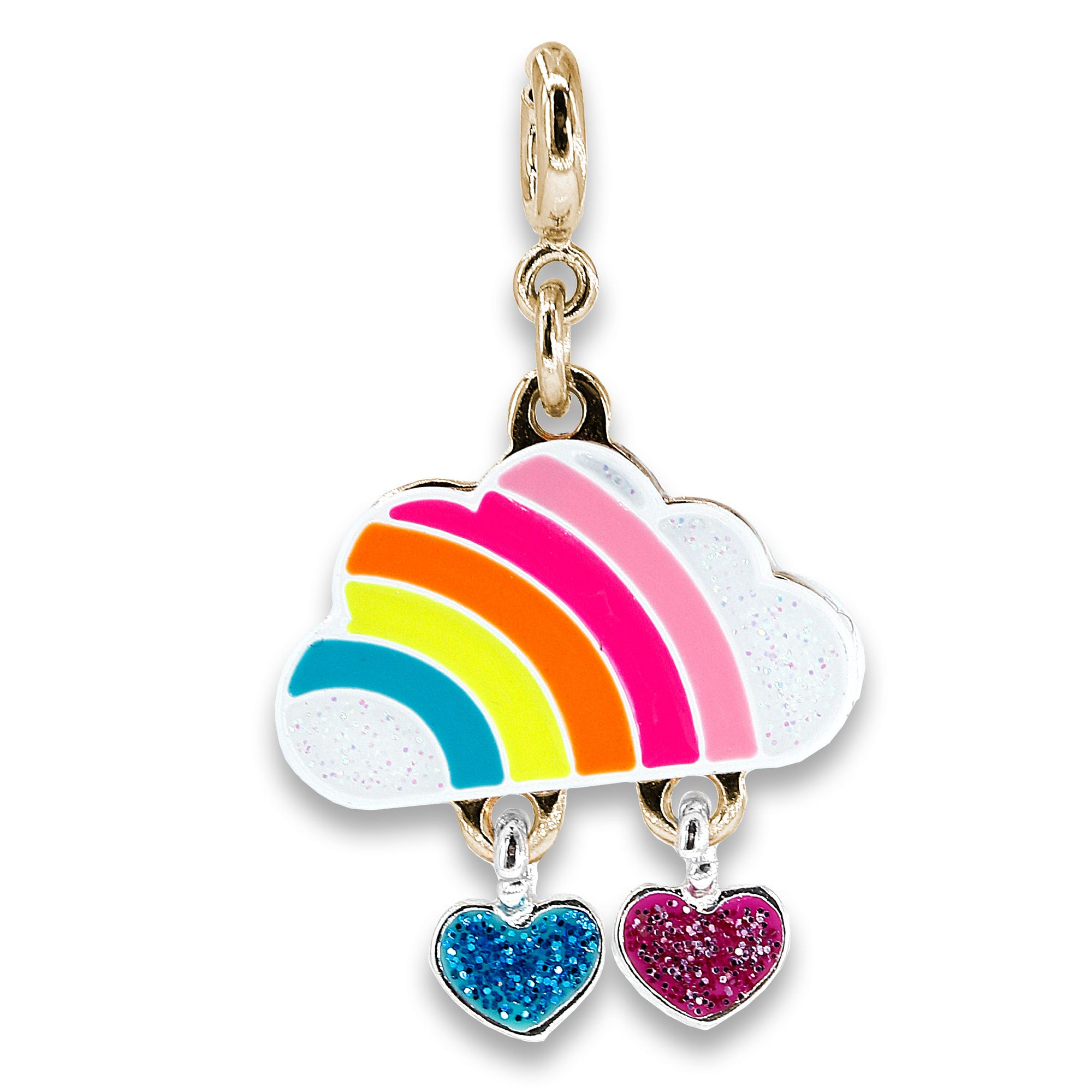 CHARM IT! Gold Cloud Rainbow Charm