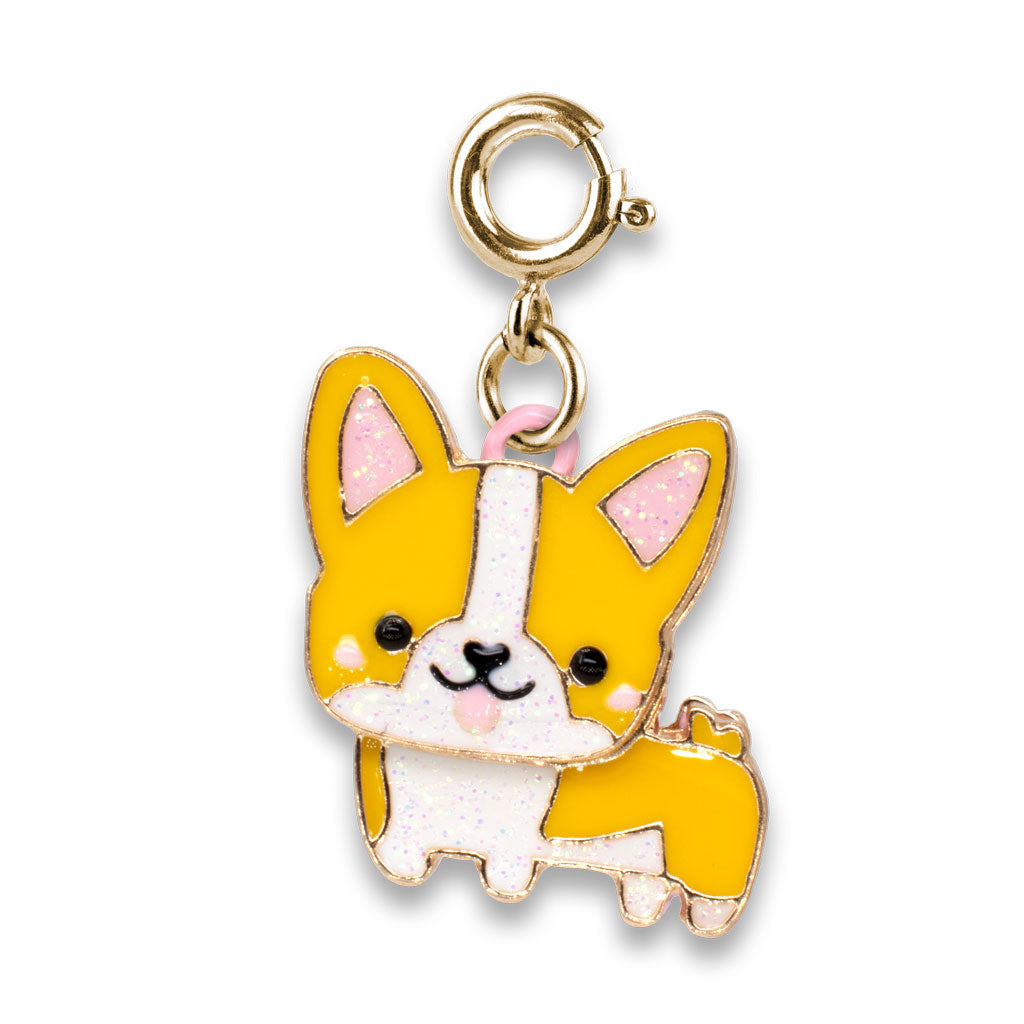 CHARM IT! Gold Corgi Charm