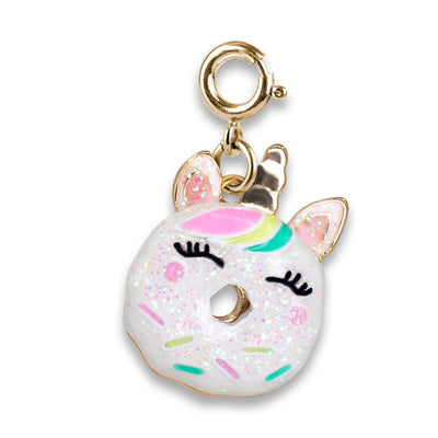 CHARM IT! Gold Unicorn Donut Charm