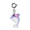 Purple Dolphin Charm