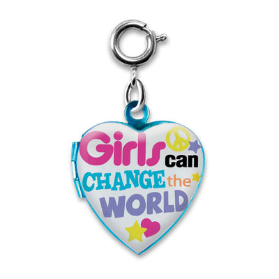 Shop Girls Can Change the World Charm