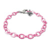 Pink Chain Link Bracelet - shopcharm-it