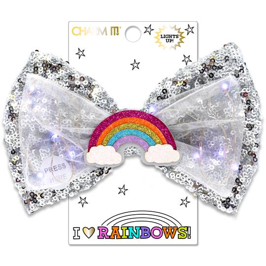 Shop Rainbow LED Sequin Bow