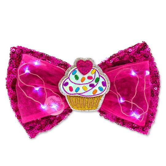 Sweets LED Sequin Bow