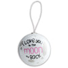 Girls Moon Ornament