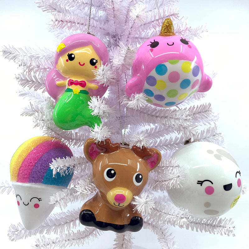 CHARM IT! Rainbow Snow Cone Ornament