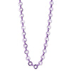 Purple Chain Necklace - shopcharm-it