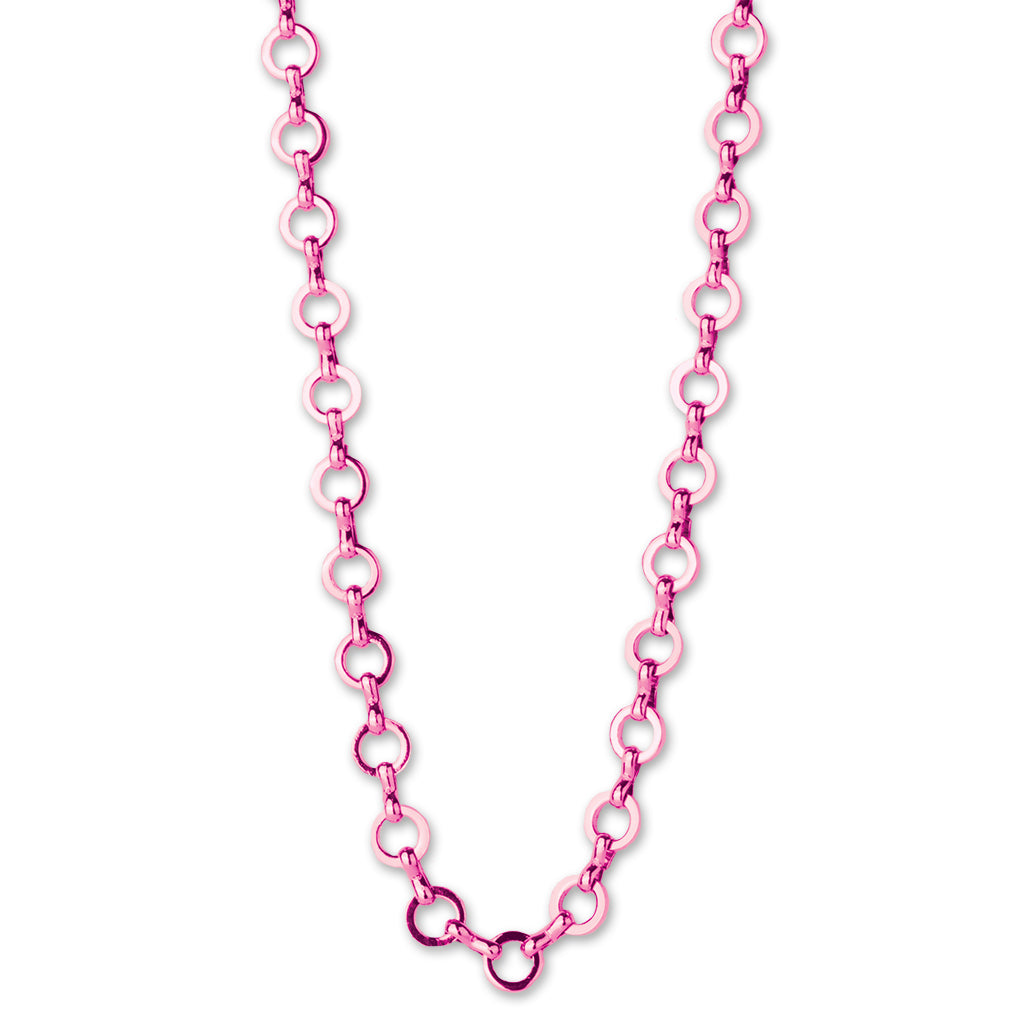 Pink Chain Necklace - shopcharm-it
