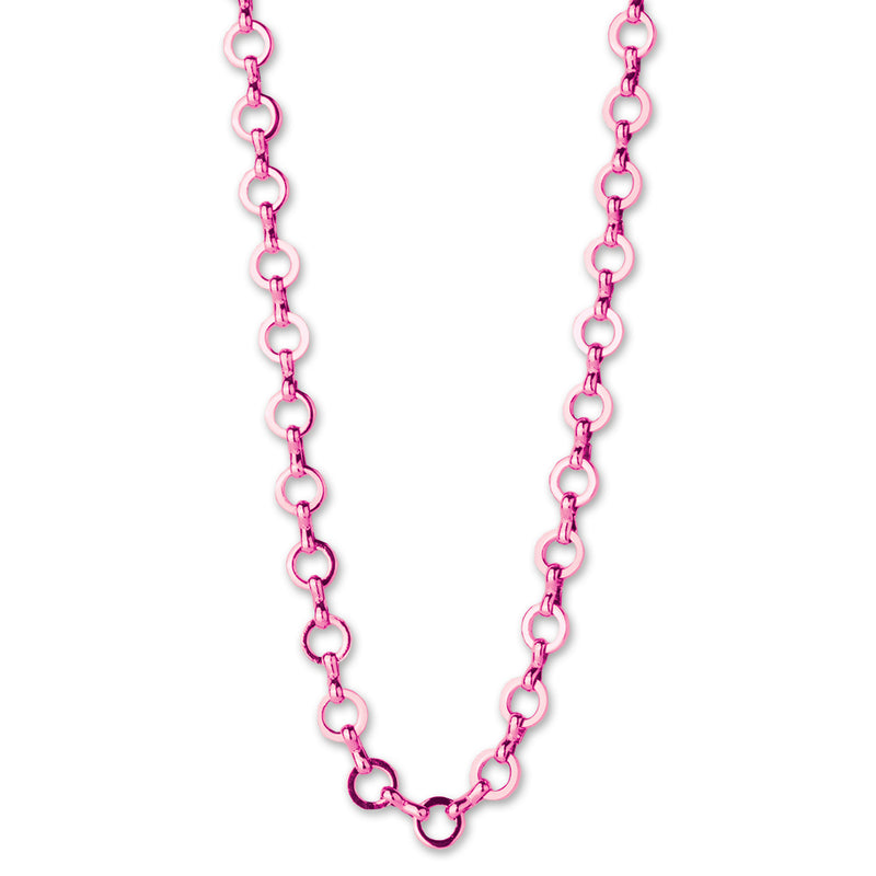 CHARM IT! Pink Chain Necklace