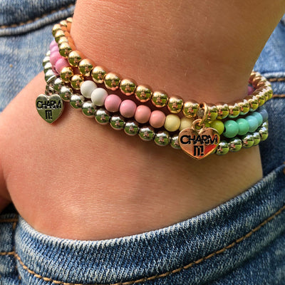 CHARM IT! Multi Pastel Bracelet Set