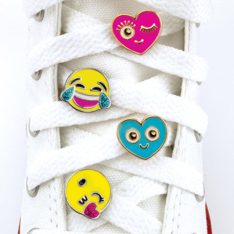 Emoji Shoelace Charm Party Set - shopcharm-it
