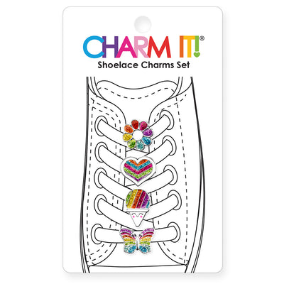 CHARM IT! Rainbow Shoelace Charms