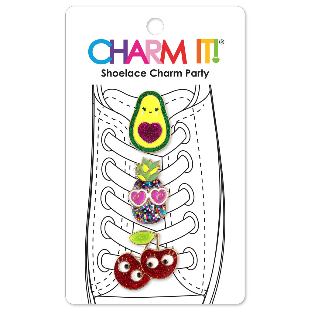 Fruit Friends Shoelace Charm Set - shopcharm-it