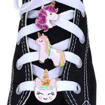 Buy Unicorn Shoelace Charm Set
