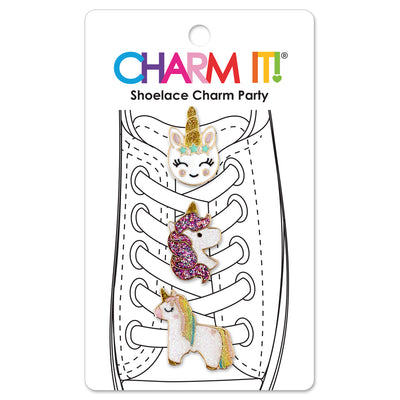 Unicorn Shoelace Charm Set