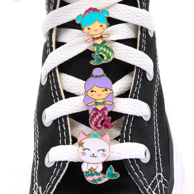 Buy Mermaid Shoelace Charm Set