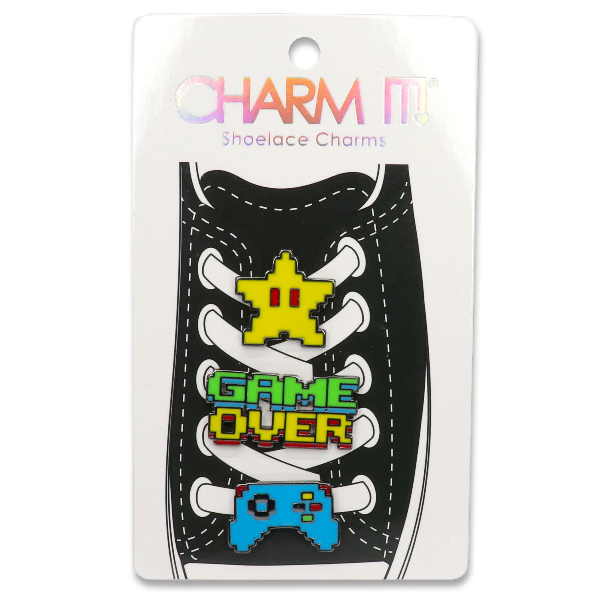 Gamer Shoelace Charm Set