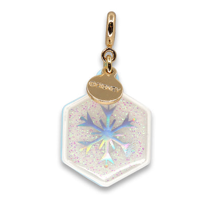 Gold Glitter Elsa Charm - shopcharm-it
