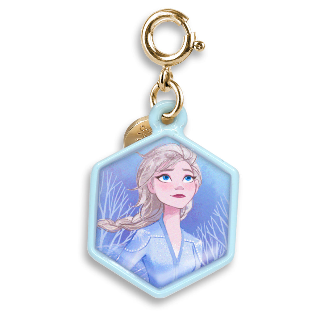 CHARM IT! Disney Charms - Frozen 2 Gold Glitter Elsa Charm