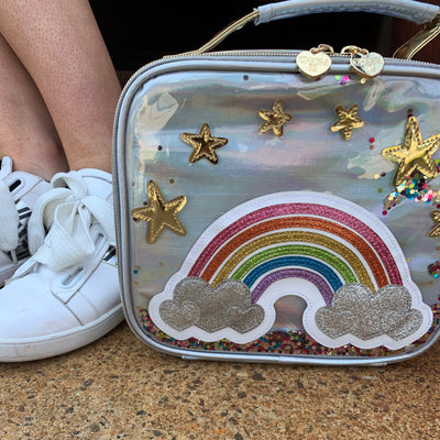 Girls Rainbow Lunchbox