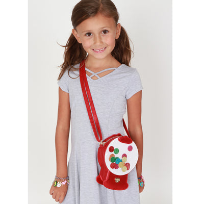 Girls Gumball Machine Charm Bag