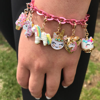 Buy Gold Unicorn Locket Charm