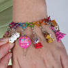 Rainbow Heart Link Bracelet - shopcharm-it