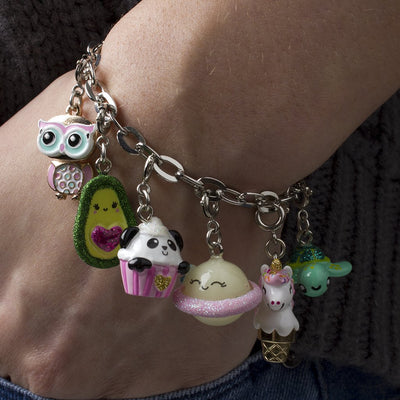 Girls Swivel Owl Charm