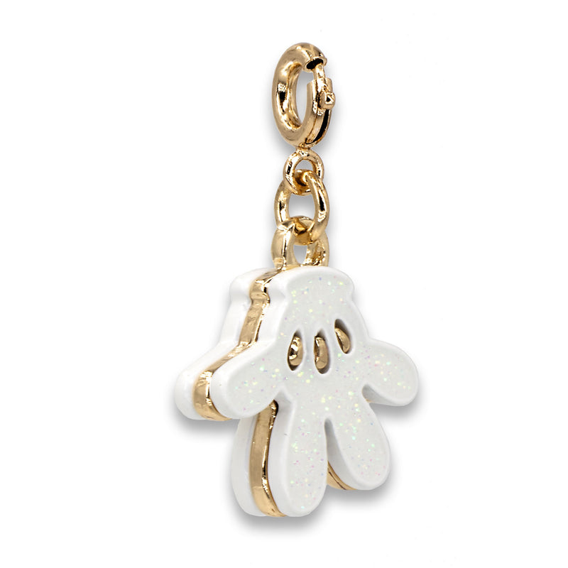 CHARM IT! Disney Charms - Gold Mickey Glove Icon Charm