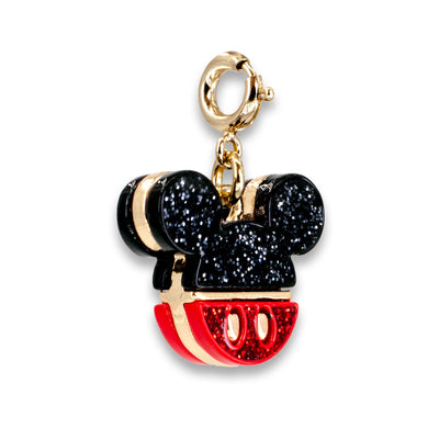 Gold Glitter Mickey Mouse Icon Charm
