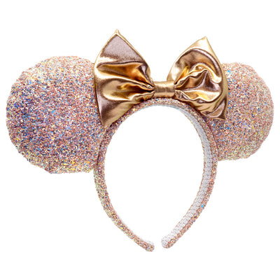 Buy Minnie Rose Gold Glitter Headband