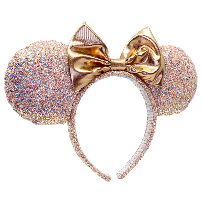 Minnie Rose Gold Glitter Headband - shopcharm-it