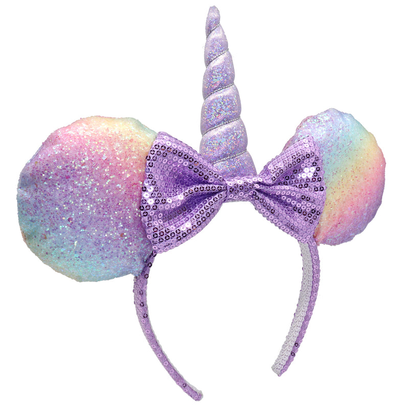 Minnie Unicorn Glitter Headband