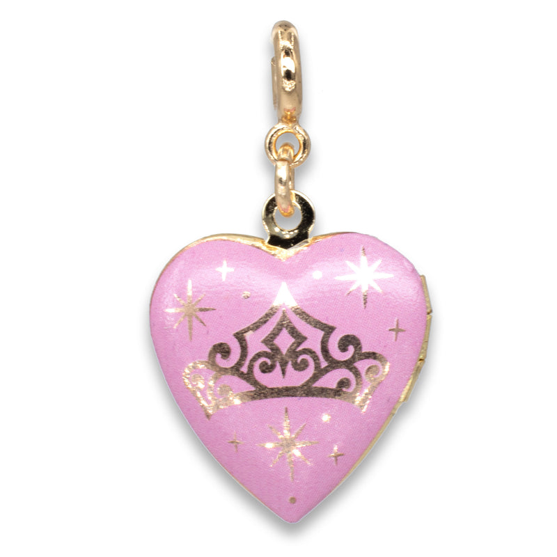 CHARM IT! Disney Charms - Gold Princess Locket Charm
