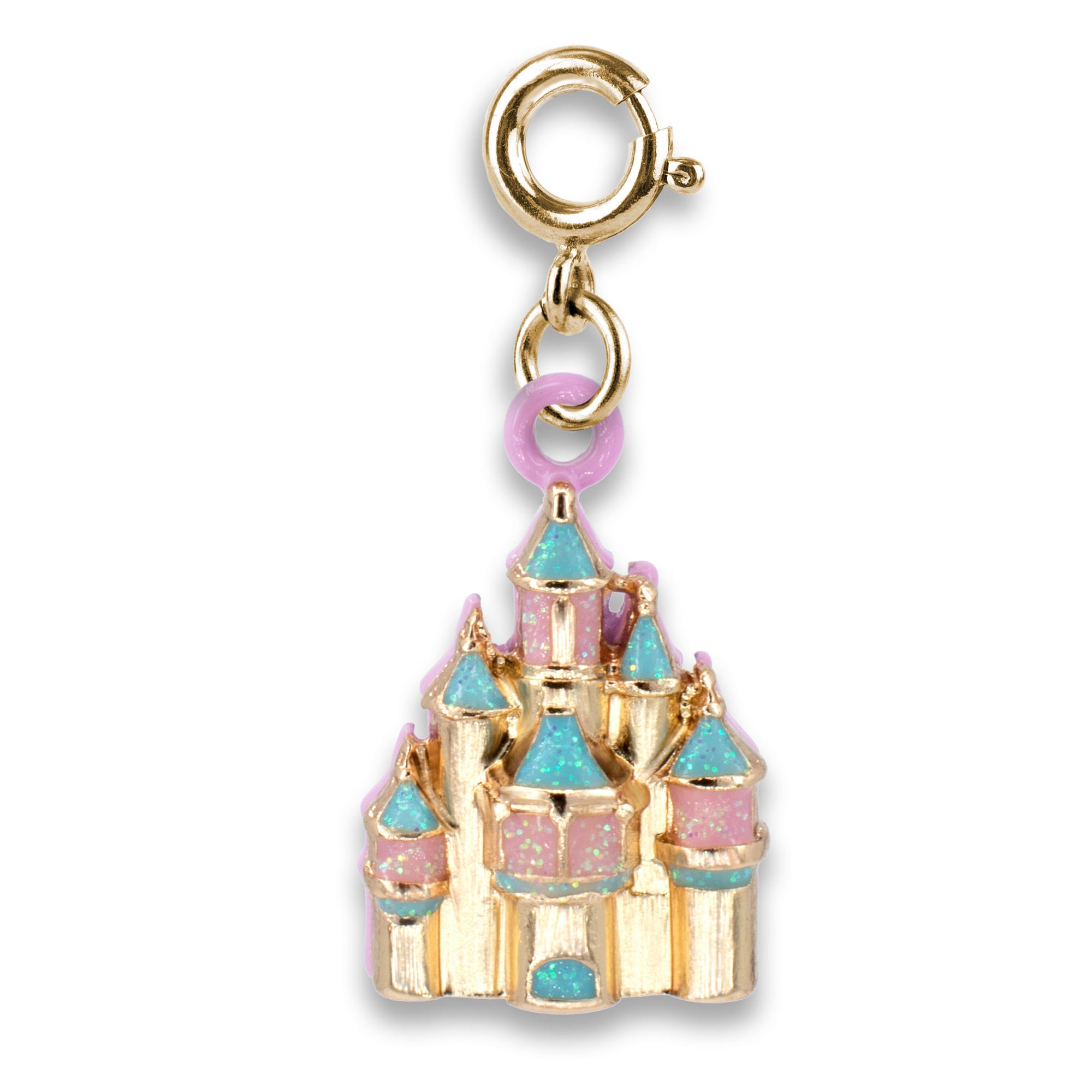 CHARM IT! Disney Charms - Gold Castle Charm
