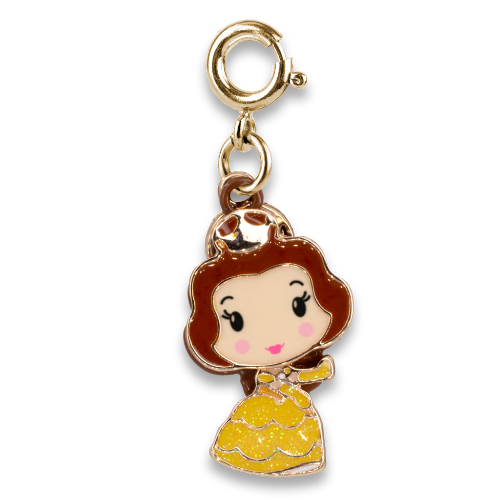 Gold Swivel Belle Charm