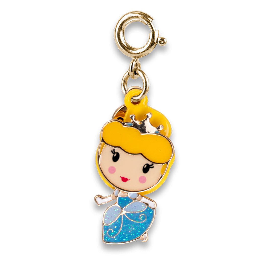 Gold Swivel Cinderella Charm