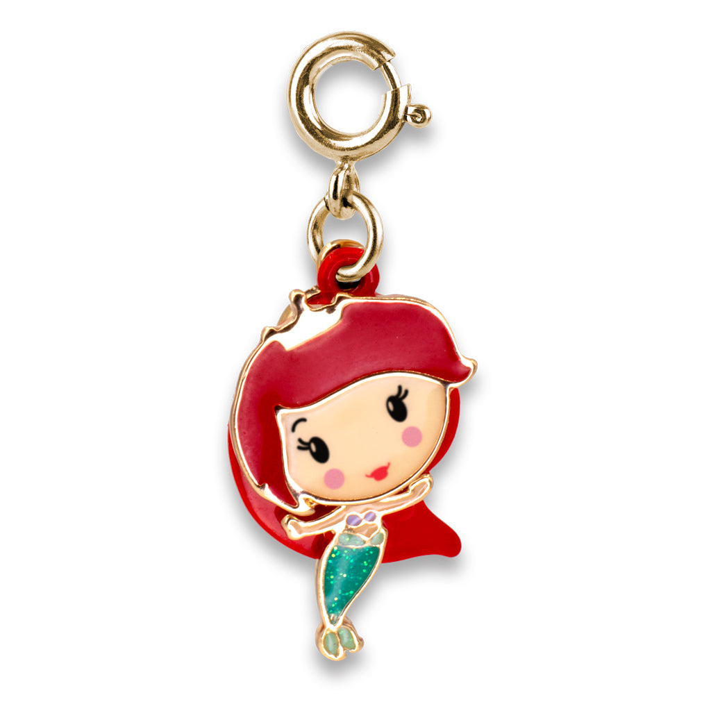 CHARM IT! Disney Charms - Gold Swivel Ariel- shopcharmit.com