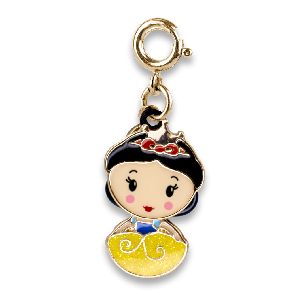 Gold Swivel Snow White Charm