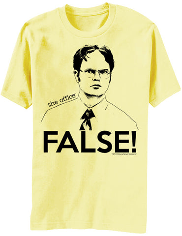 The Office: Dwight FALSE T-Shirt - National Comedy Center