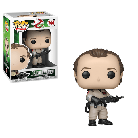 Funko Pop! Movies: Ghostbusters Dr. Peter Venkman - National Comedy Center