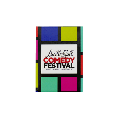 2019 Lucille Ball Comedy Festival Magnet - National Comedy Center