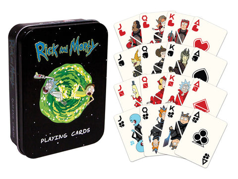 Rick & Morty Playing Cards - National Comedy Center